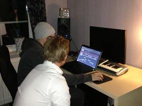 Me in my studio: Cazzette