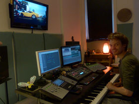 Me in my studio: Chris Green