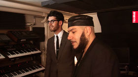 Chromeo video studio tour
