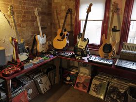 In pictures: Crazy P's Nottingham studio