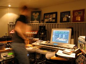 Me in my studio: Darude