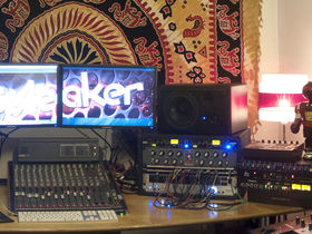 Me in my studio: Dr Meaker