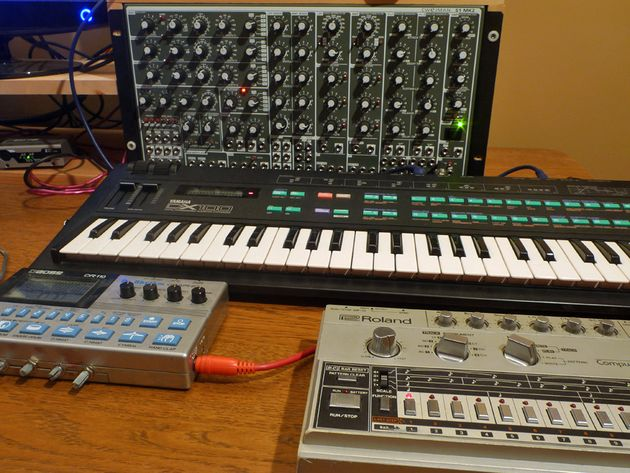More synths and drum machines