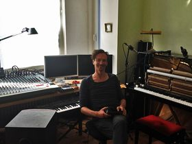 Me in my studio: Hauschka