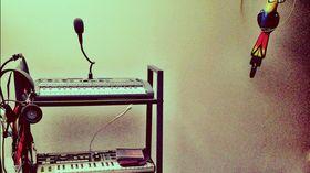 Me in my studio: Henry Saiz