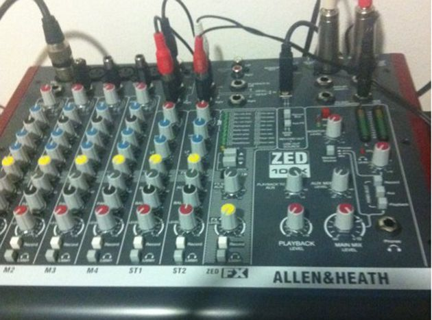 Allen & Heath mixer