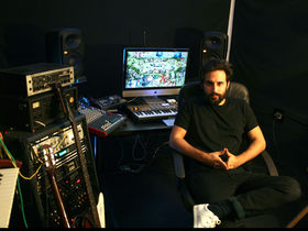Me in my studio: Moullinex