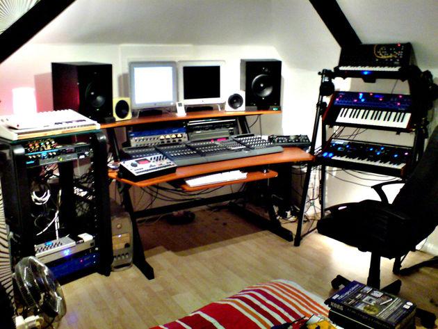 Adam Chisman's studio