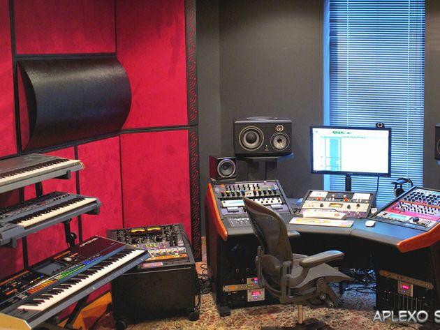 Alex Palamar's studio