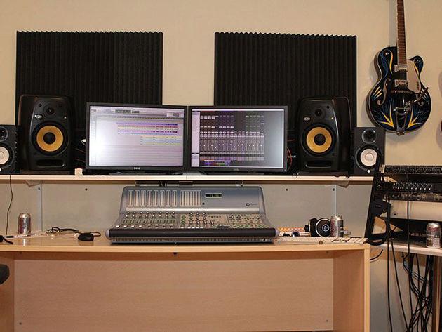 Anders Molin's studio