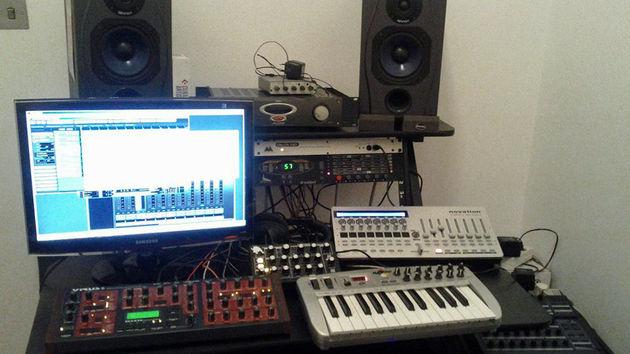 Andreas Hatzas' studio