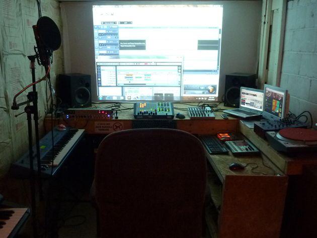 Andrew Ahrendt's studio