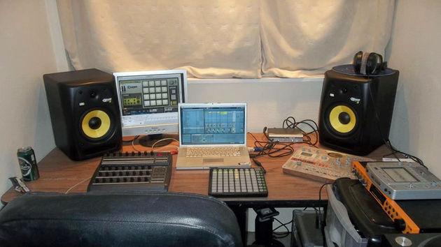 Andrew Wilx Wilkinson's studio
