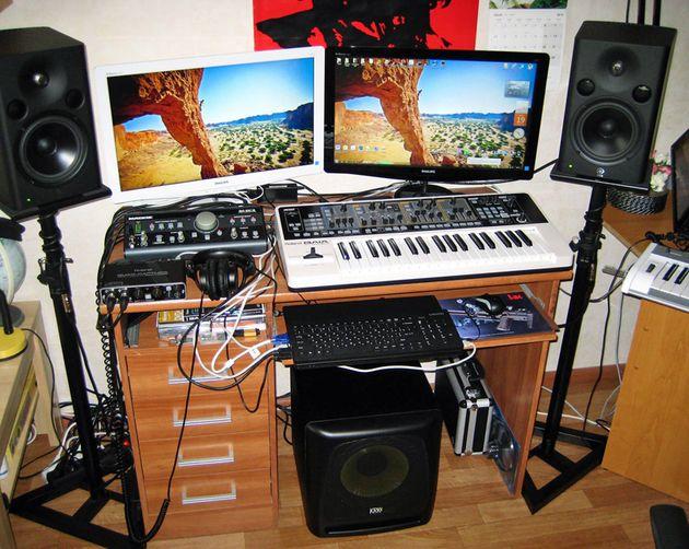 Andris Rinkis' studio