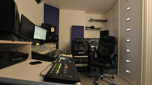 Arthur Keen's studio