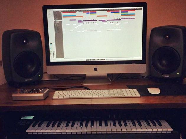 Arun Betson's studio
