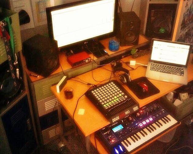 Avery Wonacott's studio
