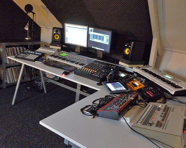Ben De Graaf's studio