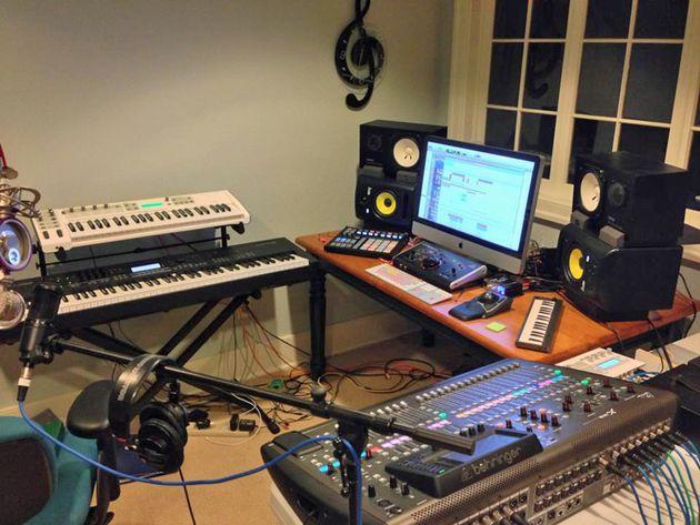 Ben Kroeger's studio