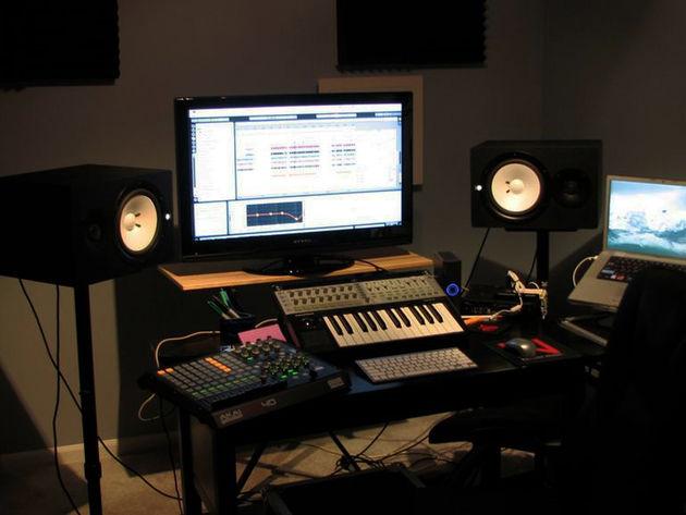 BlueprintDnb's studio