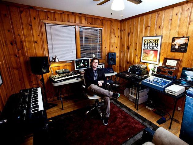 Brian Siskind's studio