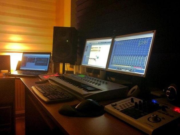 DJ Eyup's studio