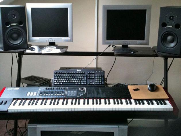 DJ Ant Bowman's studio