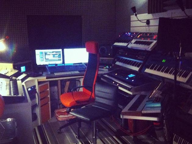 Dan Burton's studio