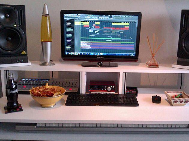 Daniel Patterson's studio