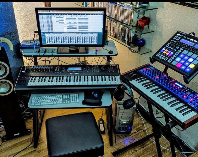 Danny Dellamorte's studio