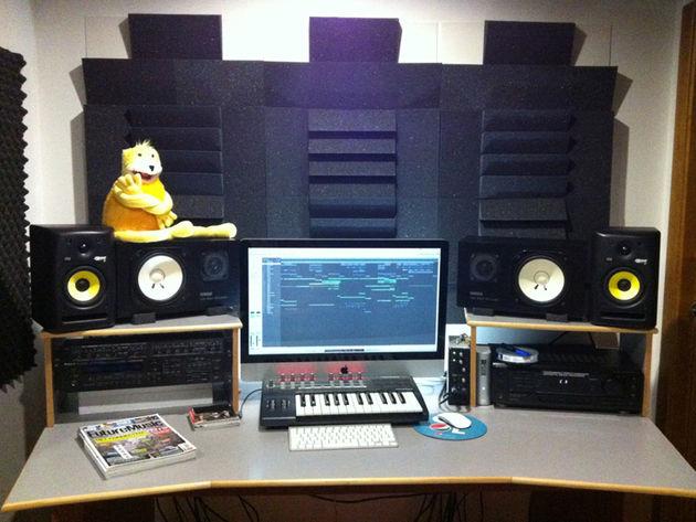 Deejay Pedro G's studio