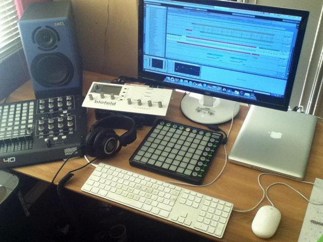 Djcentis' studio