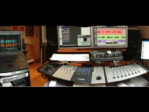 Douglas Kean's studio