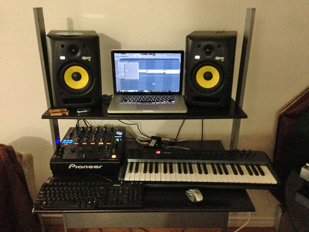 Emmet Price's studio