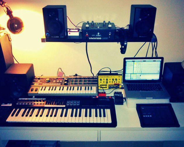 Eric Flat's studio