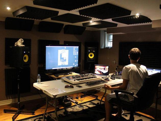 Eric Henriques' studio