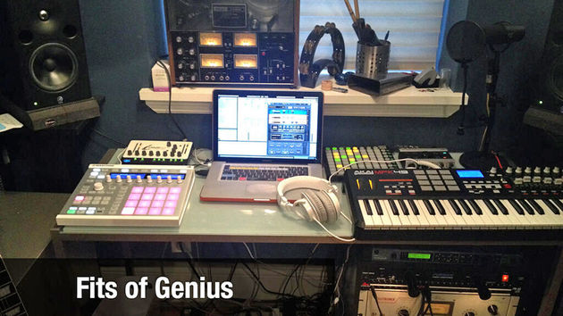 Fits of genius' studio