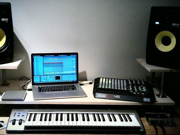 Gjermund Haug's studio