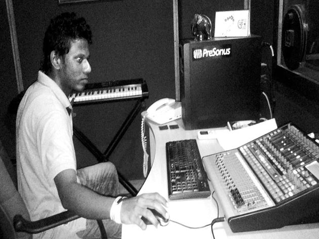 Harshana Udayanga's studio
