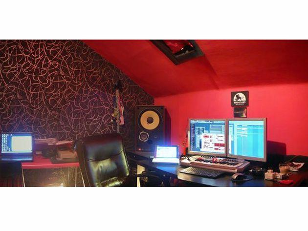 Jaime Päivä's studio