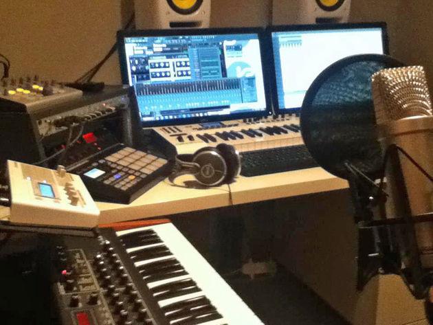 Jay Meyer's studio