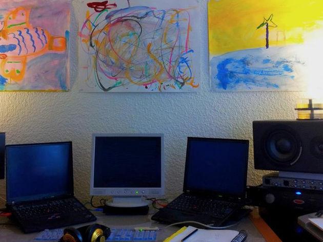 Jeremy Strzoda's studio