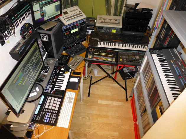 Jim Pedersen's Jim Systems studio