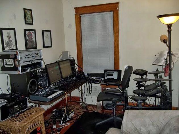 John DeWitt's studio