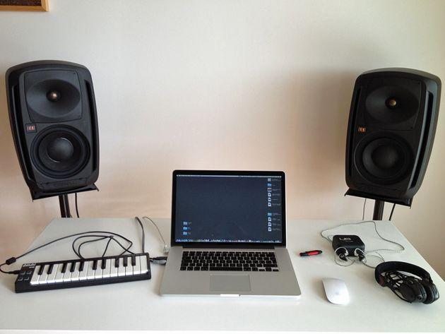 Jon Culter's studio