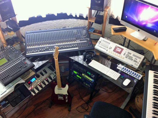 Juan Carlos Portillo's studio