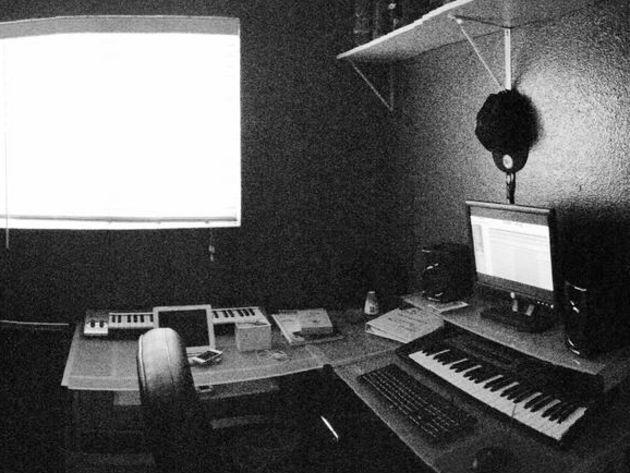 Julian's studio