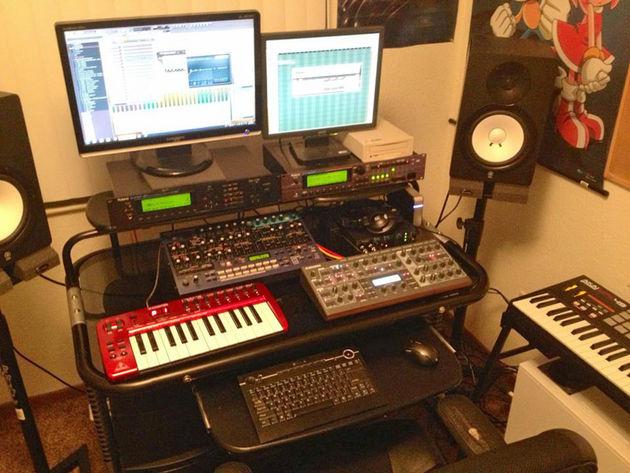 Justin Hicks' studios