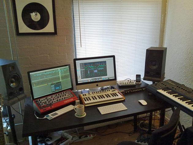 Kiholm's studio