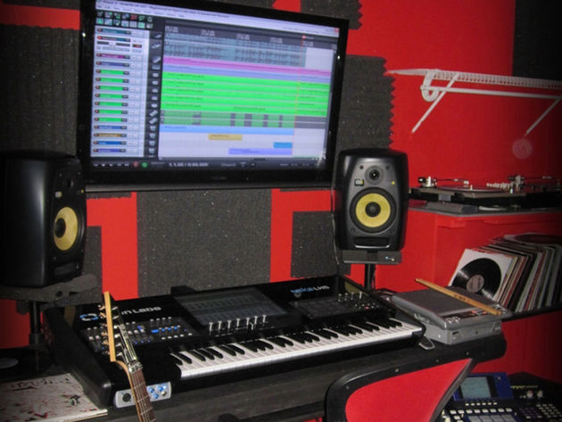 Kreep Jamez's studio